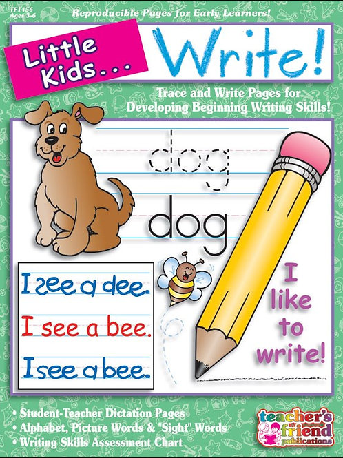 Little Kids Can Write