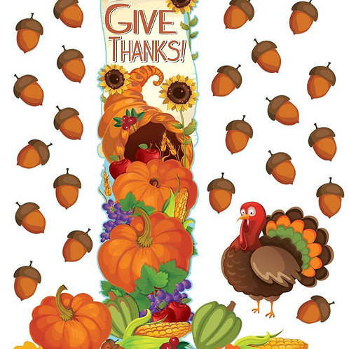 Thanksgiving All-In-One Door Decor Kit