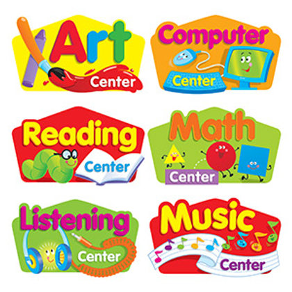 Primary Center Signs