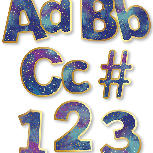 Galaxy Combo Pack EZ Letters