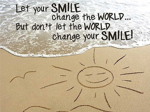 Smile Change The World Poster