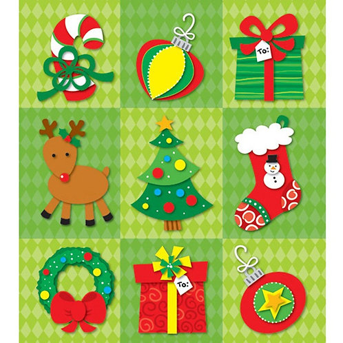 Christmas Prize Pack Stickers