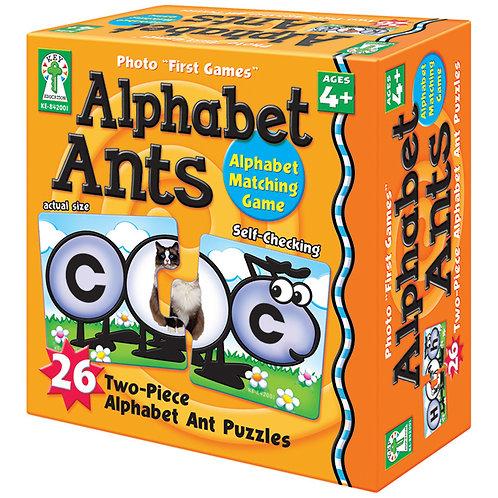 Alphabet Ants Board Game