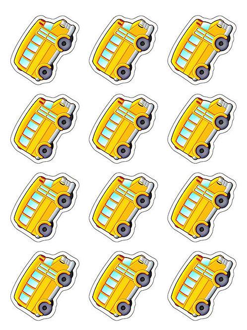 School Bus Mini Accents