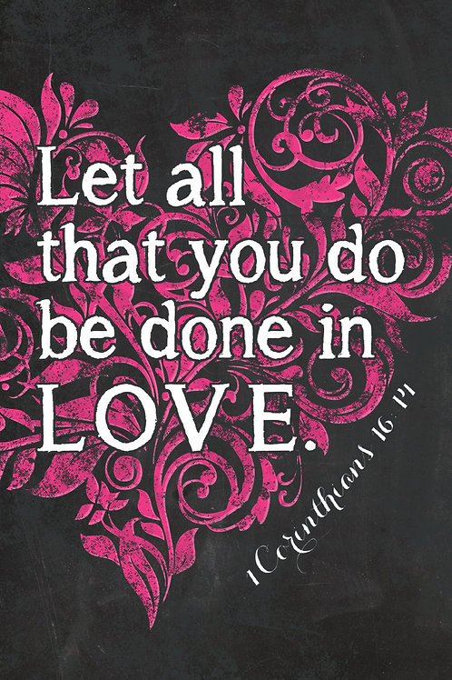 Let All That You Do Poster