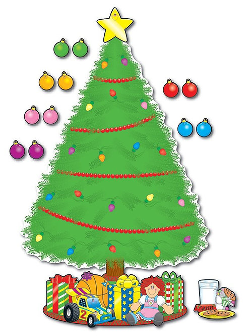 Big Christmas Tree Bulletin Board Set