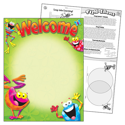 Frog-tastic Welcome Chart