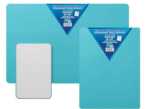 "Flannel / Dry Erase Board 18"" x 24"""
