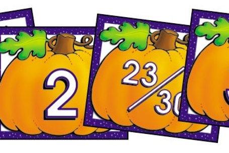Pumpkin Calendar Days
