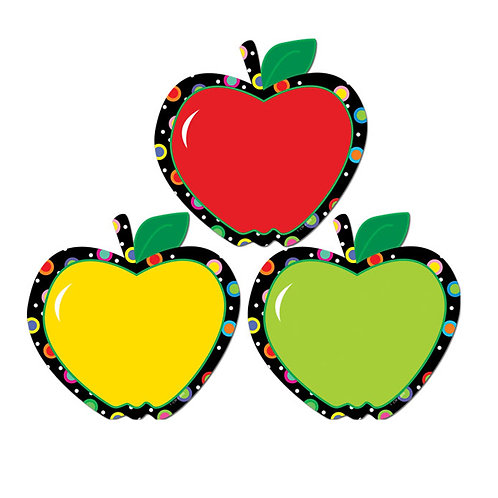 """Poppin' Patterns Apples 6"""" Designer Cut-Outs"""