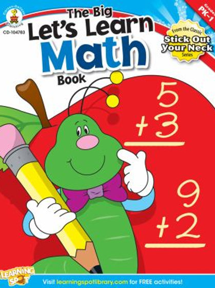 The Big Let's Learn Math Book Resource Book