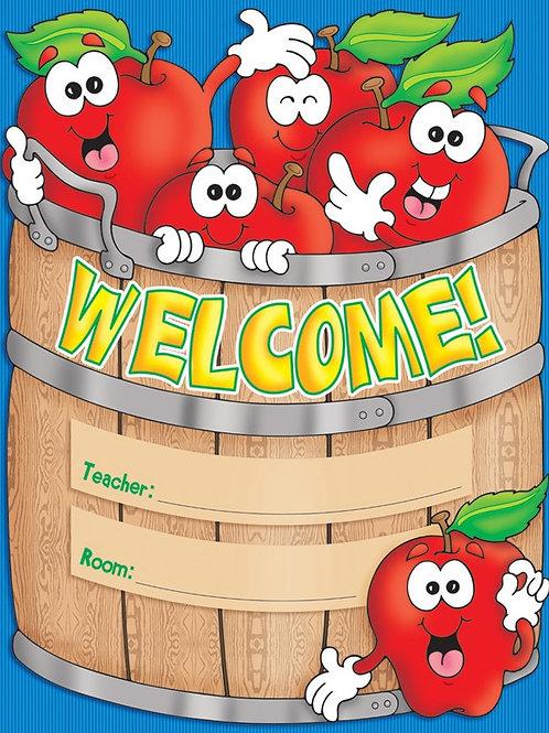 Apple Basket Welcome Chart