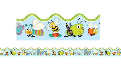 """""""Buggy"""" for Bugs Scalloped Borders"""