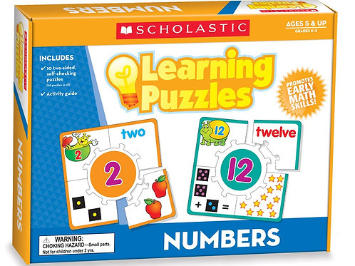 Number Learning Puzzle