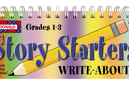 Write-About Story Starter Gr 1-3