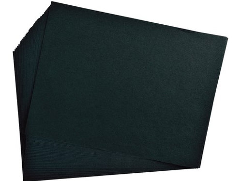 Construction Paper Black 9 x 12 50 Sheets