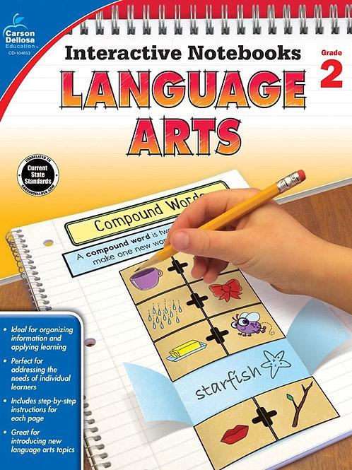 Interactive Notebooks: Language Arts Gr 2