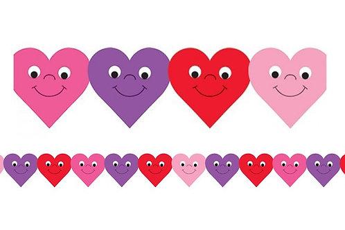 Happy Hearts Border
