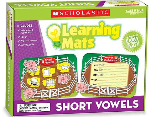 Short Vowels Learning Mat