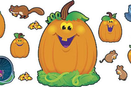 Pumpkin Pals Bulletin Board Set