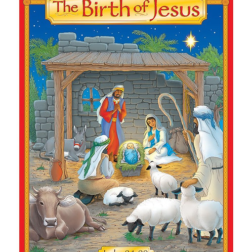 The Birth of Jesus – Story Learning Chart