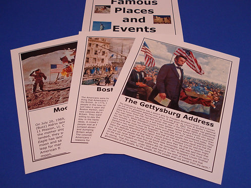 FAMOUS PLACES AND EVENTS