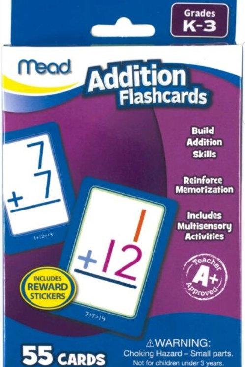 Mead Addition Flashcards