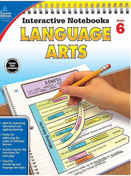 Interactive Notebooks: Language Arts GR 6