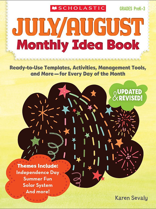 July - August Monthly Idea Book