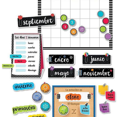 Bold & Bright Spanish Calendar Set
