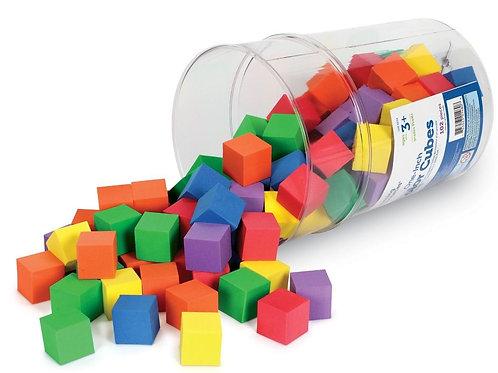 Soft Foam Color Cubes™  102 cubes