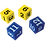 Thumbnail: Foam Numbered Dice (Numerals 1-12)