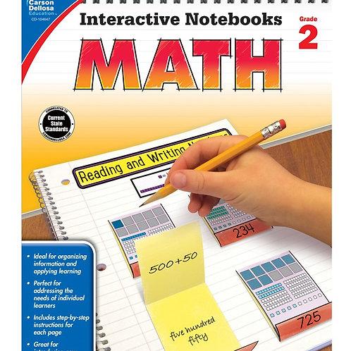 Interactive Notebooks: Math Gr 2