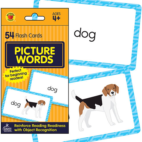 Picture Words Flash Cards
