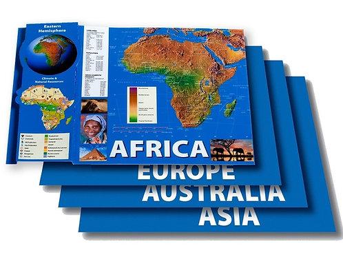Eastern Hemisphere Maps BB Set