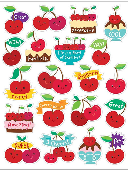 Cherry Scented Stickers