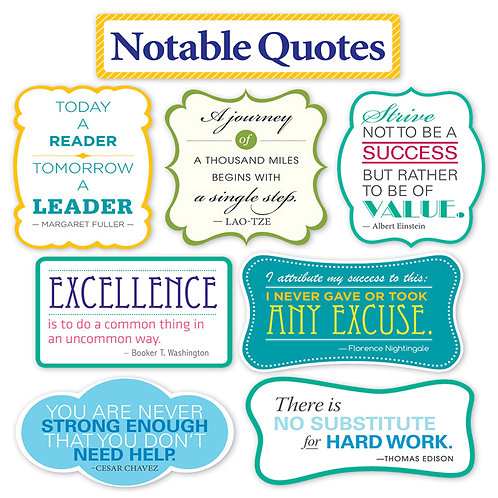 Notable Quotes BB Set