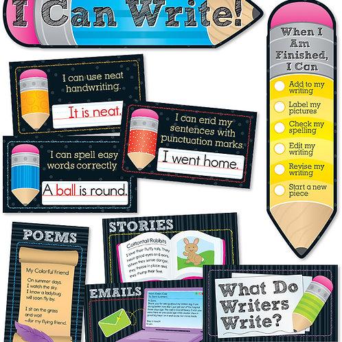 I Can Write! Mini Bulletin Board Set