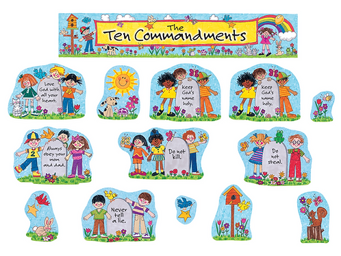 Children's Ten Commandments BB Set