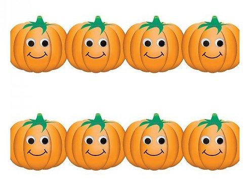 Happy Pumpkin Border