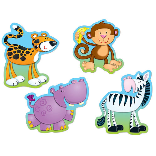 Jungle Animals Cut-Outs