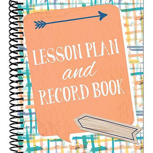Confetti Splash Lesson Plan Record Book