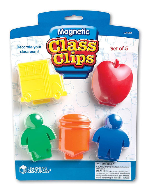 Magnetic Clips, Set of 5