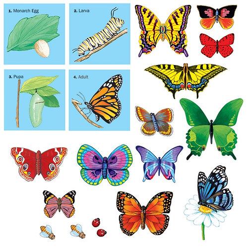 Butterflies-Felt