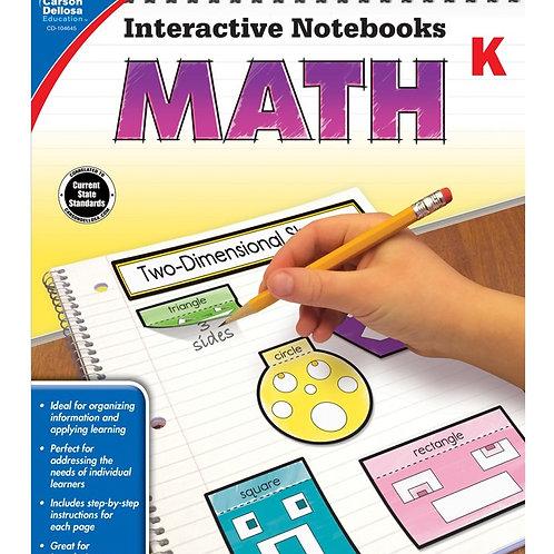 Interactive Notebooks: Math Gr K