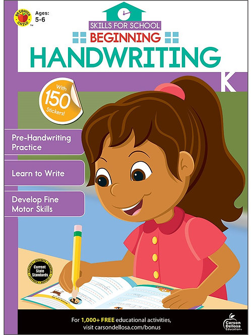 Beginning Handwriting Activity Book