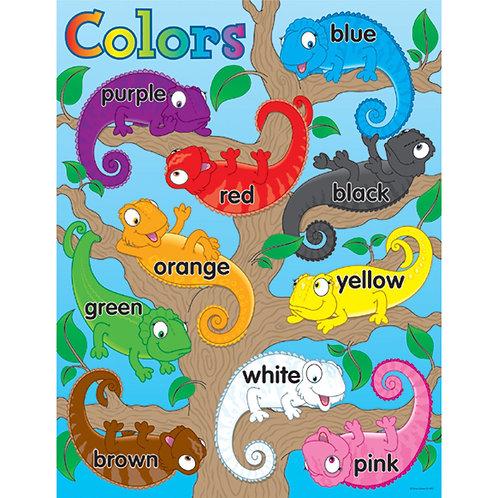 Color Chameleons Chart