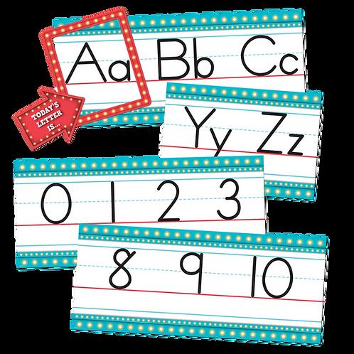 Marquee Alphabet Line