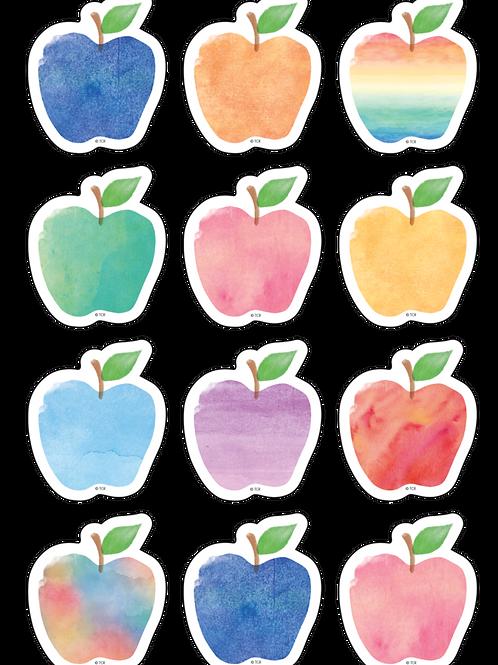 Watercolor Apples Mini Accents