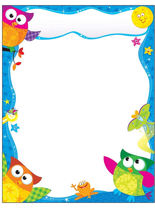 Owl-Stars!® Learning Chart